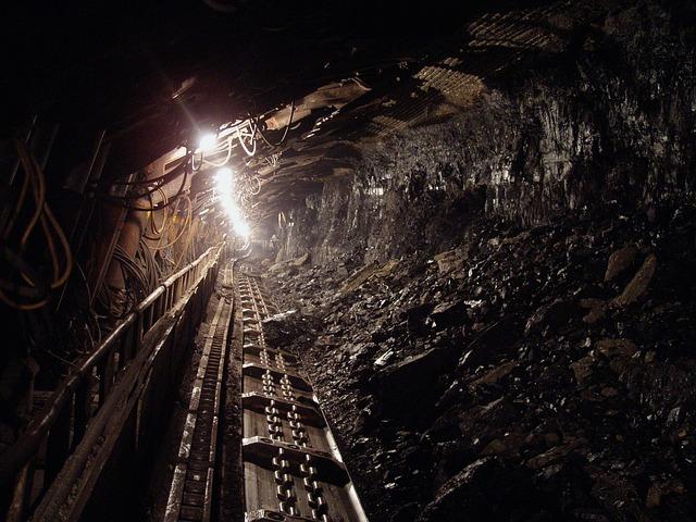 ścieżka w kopalni