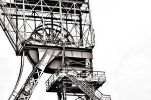 Widok na platformę górniczą