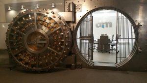 Ogromny skarbiec w banku